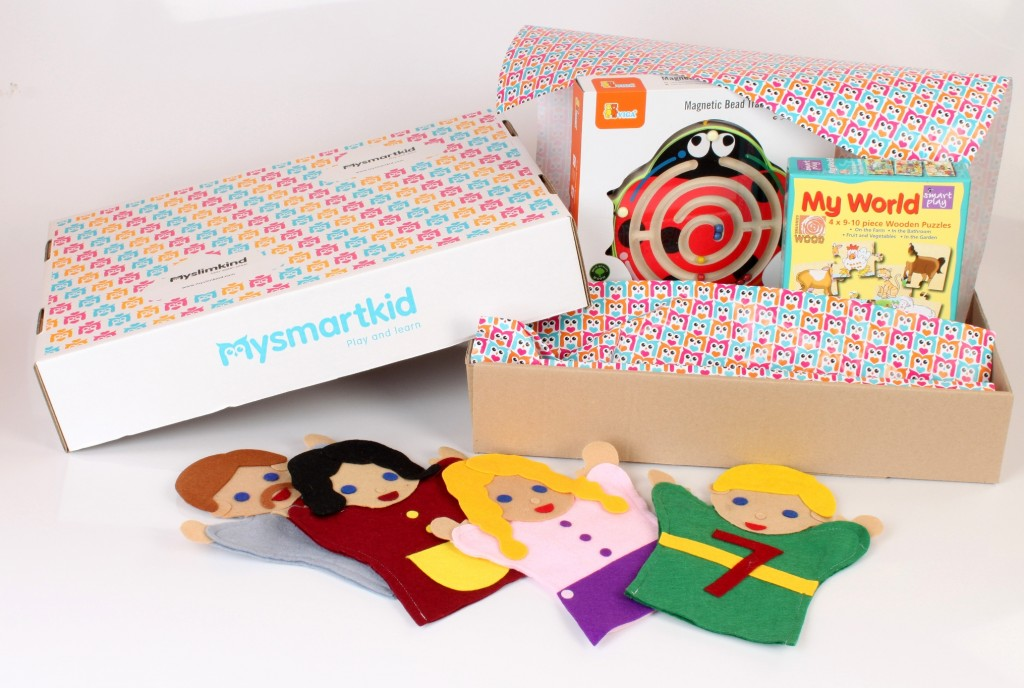 Smartbox with toys